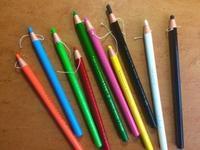 チャコペン(ダーマトグラフ) #好きなモノの話をしよう - 造形+自然の教室  にじいろたまご