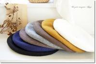 秋冬ベレー帽&Iラインカーディガン入荷!&洗面所の床に何も置かない収納を目指して! - Ange(アンジュ) - 小林市の雑貨屋 -