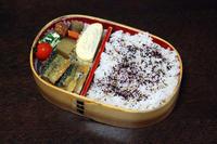 サンマの蒲焼き - 庶民のショボい弁当