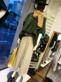 コーデュロイのパンツ・・・・・☆ - 今日のdureine