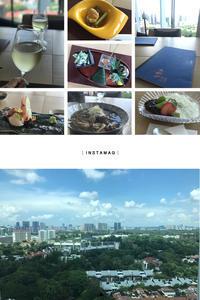 眺めの良い和食屋さんにて - フォトジェニックな日々