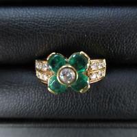 エメラルドの指輪をお買い取りしました。買取専門店 和(なごみ)です! - 買取専門店 和 店舗ブログ