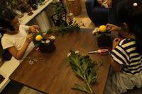 菊の節句 キッズレッスン9.8 - 北赤羽花屋ソレイユの日々の花