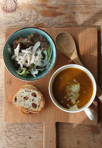 かぼちゃのカレースープ - Nasukon Pantry