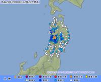 秋田で震度5強 - 20140427