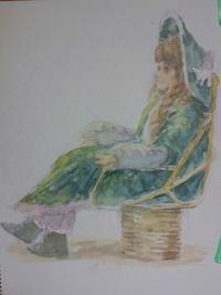 koujiさんの絵 「人形」no.1 - greensleeves.poplar