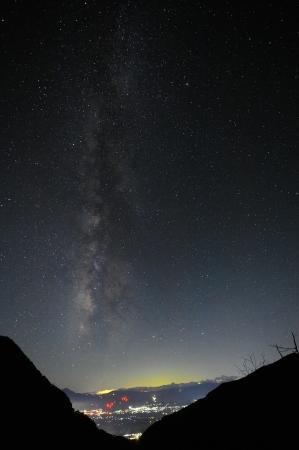 台風一過の夜 - 高峰温泉の四季の移り変わりを写真と一言コメントで楽しんでください。
