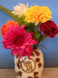 追加の菊の花 - うららフェルトライフ