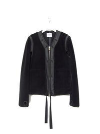 TAKAHIROMIYASHITATheSoloist zip up collarless liner jacket. - archivist BLOG