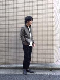 テーラードジャケットとは異なる魅力を持つ新作ジャケット! - AUD-BLOG:メンズファッションブランド【Audience】を展開するアパレルメーカーのブログ