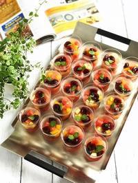 フルーツたっぷりゼリー - 菓野香な暮らし