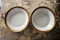 仏リモージュ金縁小皿 - スペイン・バルセロナ・アンティーク gyu's shop