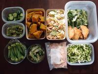 週末恒例の常備菜づくり(170910) - ふたりで暮らす
