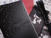 ★BUCK-TICK公式グッズ FISH TANK会員限定商品トレーディングカード、チケットケース他へ、猫のシルエット画を提供いたしました。 - IkukoHatoyama  鳩小屋通信 officialブログ