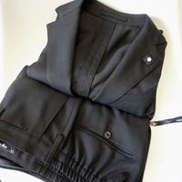 LARDINI ラルディーニ ホップサックウールパッカブルスーツ ダークネイビー - 下町の洋服店 krunchの日記