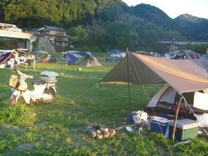 二泊三日のソロキャンプ『お刺身な夜』 -