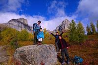 ゆっくりと、秋の足音が聞こえてきたラーチバレーハイキング - ヤムナスカ Blog