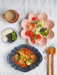 トマトスープパスタ - 陶器通販・益子焼 雑貨手作り陶器のサイトショップ 木のねのブログ
