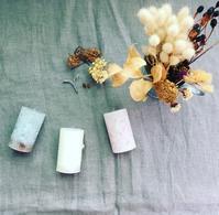 Mothers herb「花とカケラのキャンドル」 - itononiwa