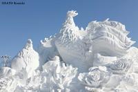 """061 太陽島、雪の彫刻博覧会 - ニッポンのインバウンド""""参与観察""""日誌"""