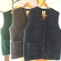 COLD BREAKER ウールパイルベスト - BEATNIKオーナーの洋服や音楽の毎日更新ブログ