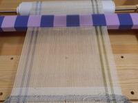 卓上織り機で、裂き織り - あずきの裂き織りの部屋