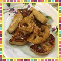 5分で作れる超簡単!蓮根の照焼き - kajuの■今日のお料理・簡単レシピ■