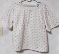 太め半袖シャツ完成 - もも&うめ日記