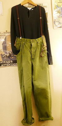 70's Military pants - carboots