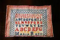 刺繍の練習の布   Hold(Hor9.12) - スペイン・バルセロナ・アンティーク gyu's shop