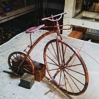自転車ができた、そして更に・・・ - Studio fu-mine Copper Works