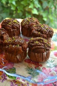 チェリーチョコカップケーキ - 調布の小さな手作りお菓子・パン教室 アトリエタルトタタン