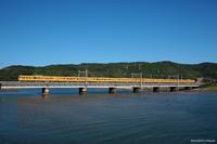 小瀬川橋梁で8連普電を狙う。 - 山陽路を往く列車たち