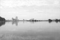 The river in Gray - りゅう太のあしあと