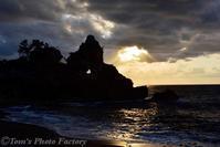 能登の夕陽~窓岩と千枚田から - Tomの一人旅~気のむくまま、足のむくまま~