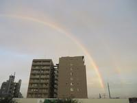 二重の虹 9/13 - つくしんぼ日記 ~徒然編~