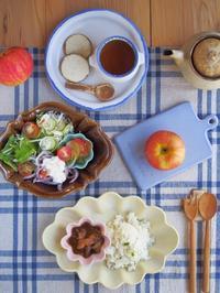 ハヤシライスの朝ごはん。 - 陶器通販・益子焼 雑貨手作り陶器のサイトショップ 木のねのブログ