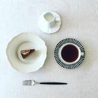 無花果とキャラメルのケーキ - the de saison おやつとお茶時間