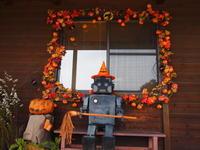 秋の飾り付け - 八ヶ岳 革 ときどき くるみ