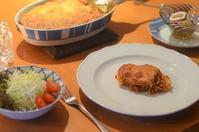ミートソースとフジッリのオーブン焼き - まほろば食日記
