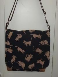 猫柄のバッグ - mackeyの手作り小物