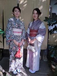 大人っぽいお着物で嵐山を散策。 - 京都嵐山 着物レンタル&着付け「遊月」