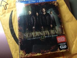 Supernatural Season 12:US版ブルーレイ(もたもたと)到着 - Blog しらずがさぐる Blog