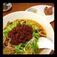 【ささのは】で坦々麺を食べる - la vie en rose