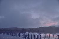 染ま..........朝 水上池 - 東大寺が大好き