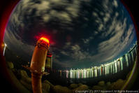 灯台の夜景 - シセンのカナタ