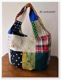 plump bag 完成 - ★ 星soraの下で・・・ 製作日記 ★