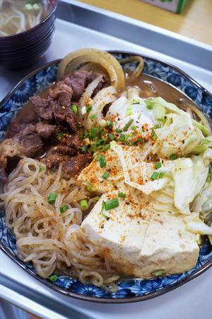 海洋食堂牛肉炒め -