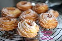 大切な人にプレゼント、自家製酵母でつくるフレンチクルーラー - 自家製天然酵母パン教室Espoir3n(エスポワールサンエヌ)料理教室 お菓子教室 さいたま