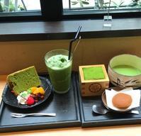549、   MATCHA CAFE HACHI - KRRK mama@福岡 の外食日記